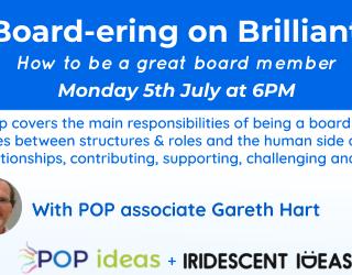 Board-ering on brilliant